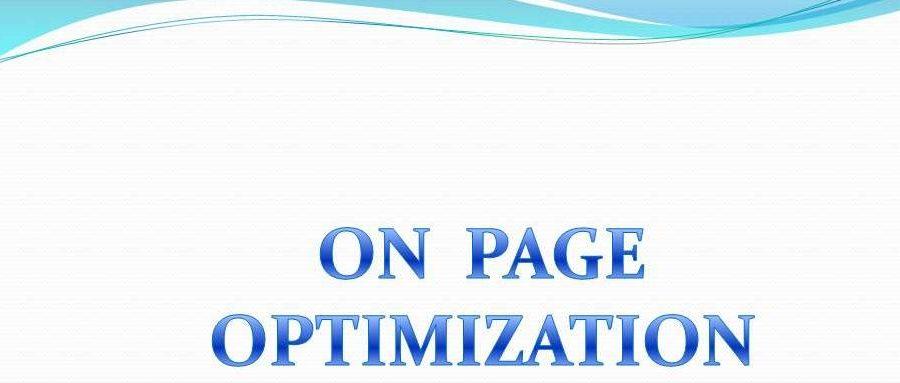 Onpage Optimization