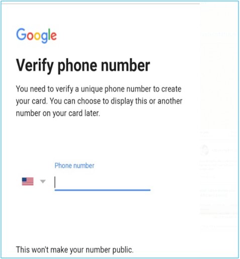 verify phone no
