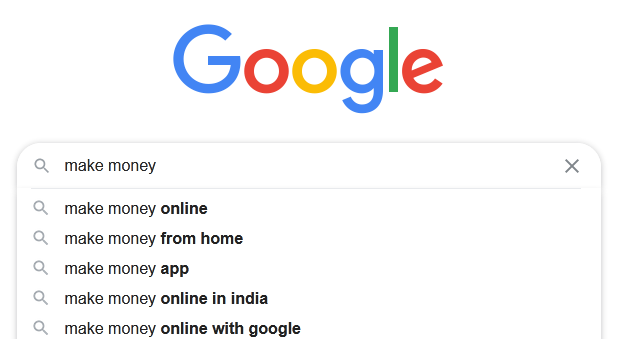 google search autocomplete