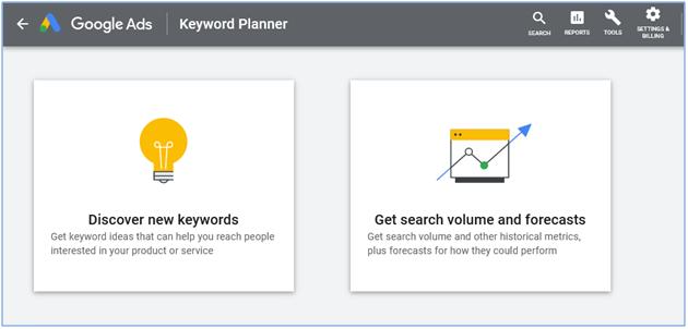 Discover keywords