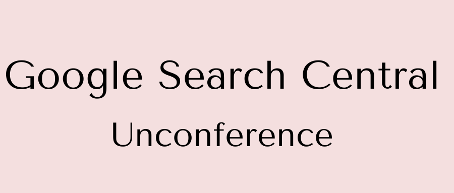google-search-unconference
